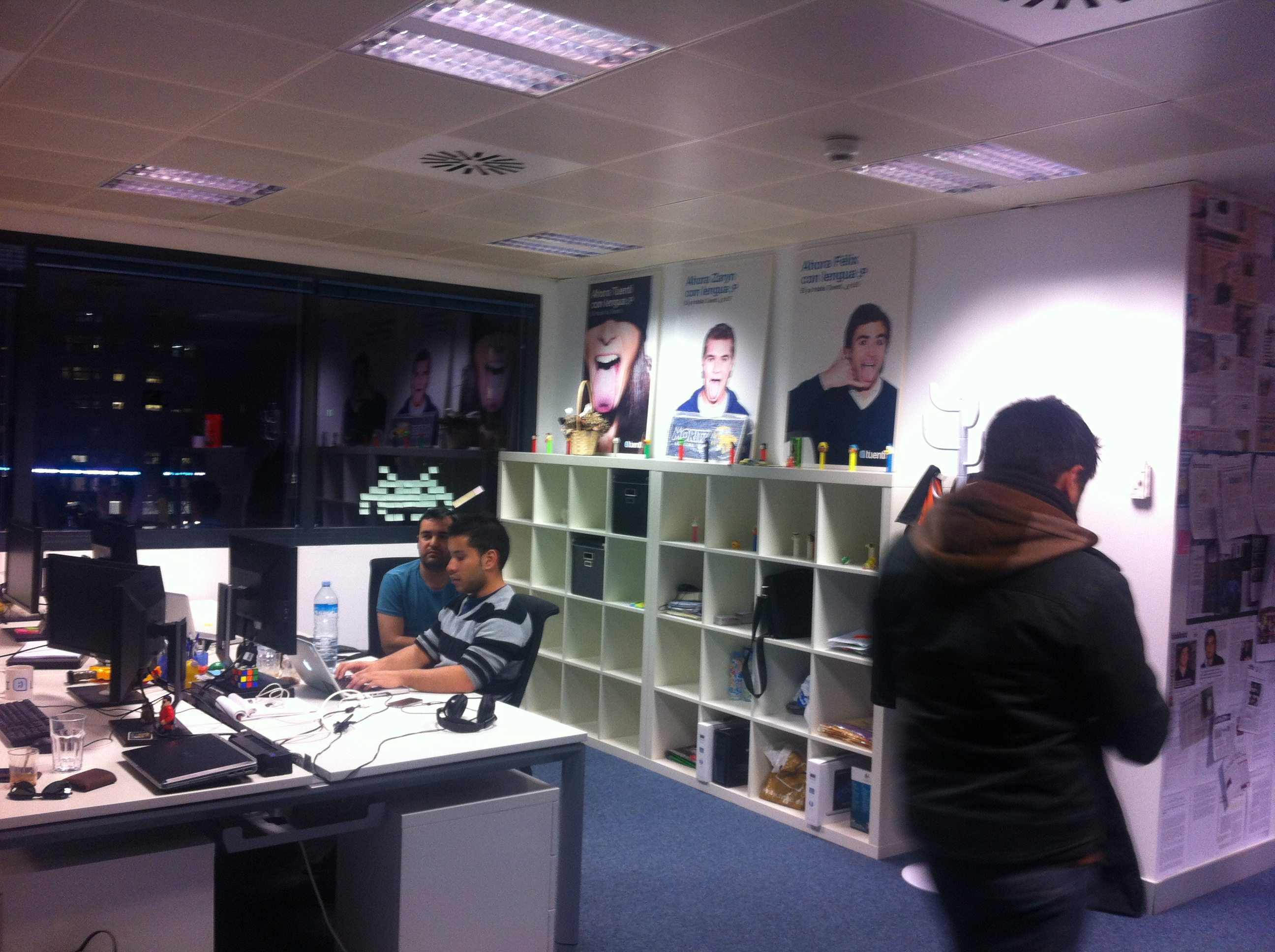 As son las oficinas de tuenti en barcelona fotogaler a for Oficinas google barcelona