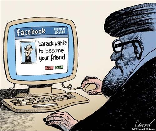 Curioso chiste sobre la situación vivida en Irán