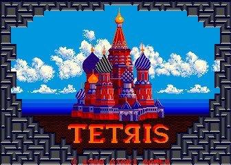 La mítica imagen del Tetris