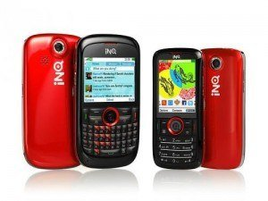 Los dos nuevos teléfonos para redes sociales de INQ