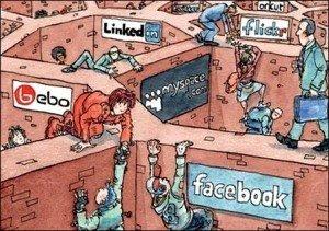Las redes sociales, muy presentes en el trabajo