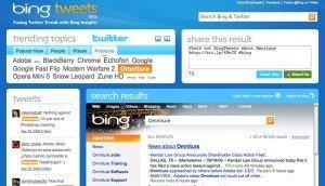Bing & Tweets
