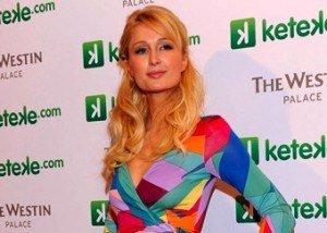Paris Hilton fue la madrina de Keteke