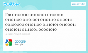 Twitter, en buscadores