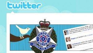 ¿Espiar a la Policía vía Twitter?