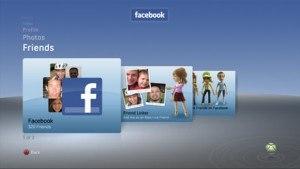 Facebook, en Xbox 360