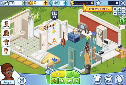 Los sims en facebook ya es el juego social de m s r pido for Programas para hacer casas virtuales