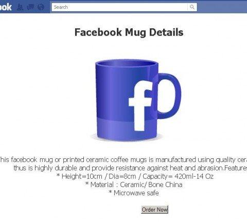 Taza facebook gratis
