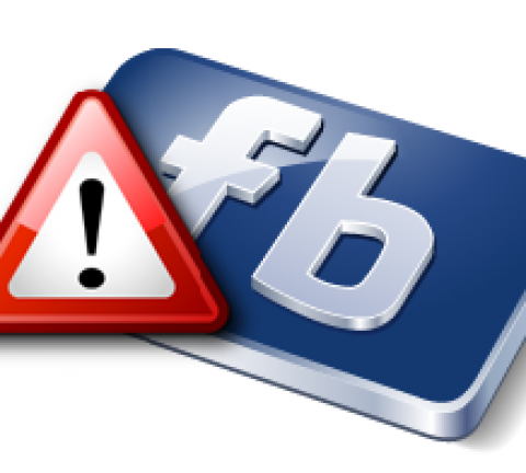 Facebook-Warning
