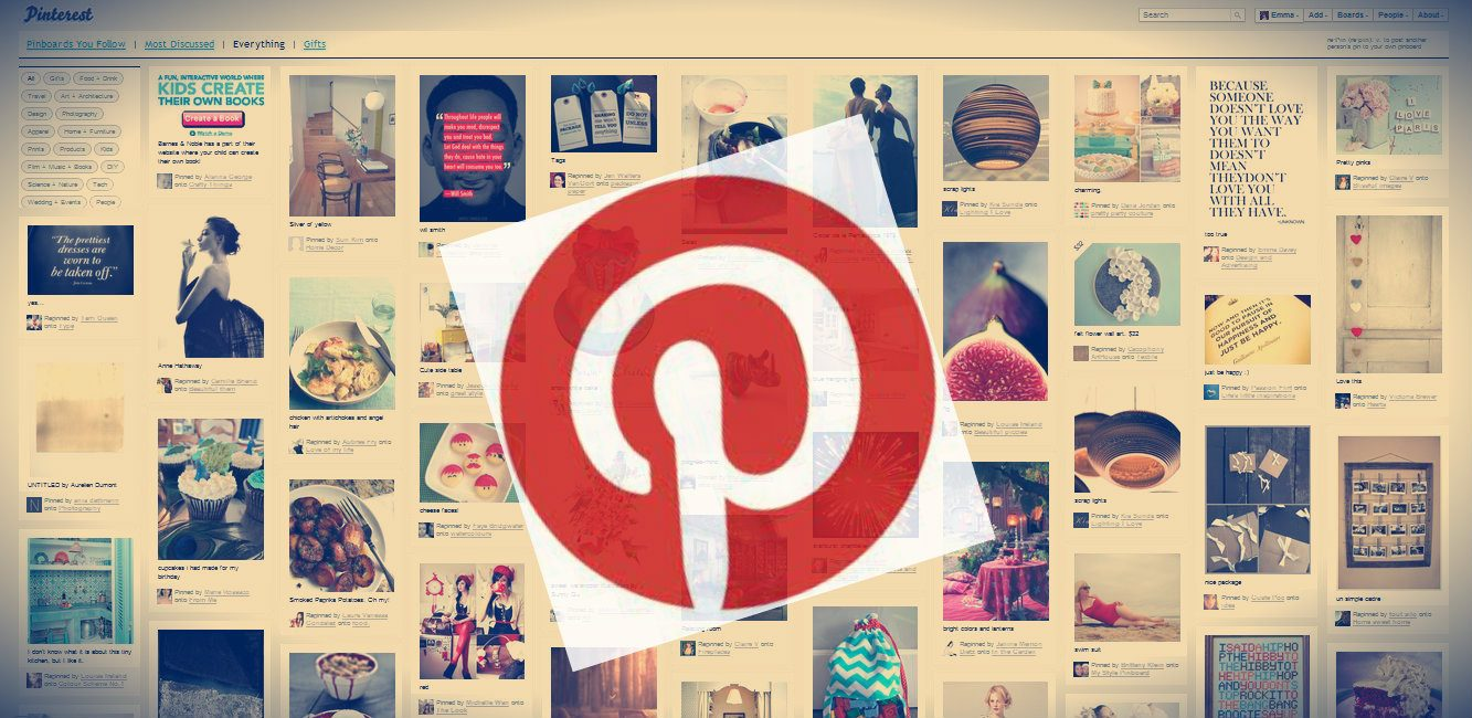 Pinterest ya vale millones de d lares for Fotos pinterest