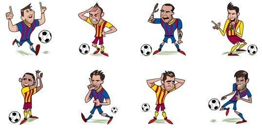 Barça Stickers