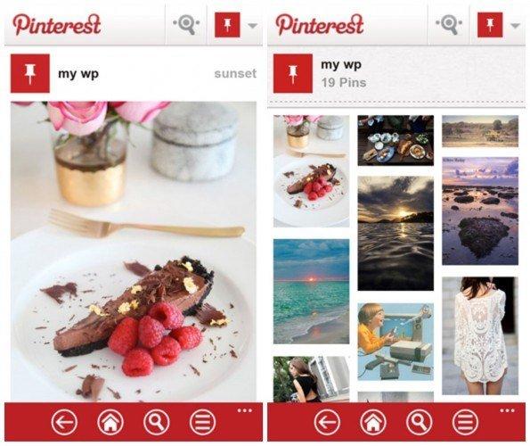 Pinterest-Windows-Phone