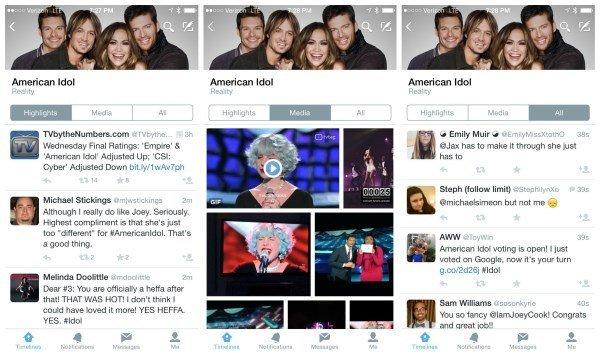 Twitter-TV-Timelines