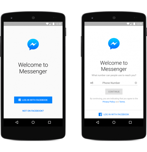 messenger-sign-up-android