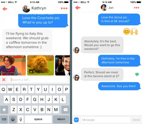 Tinder permite subir fotos desde el móvil y mejora la mensajería