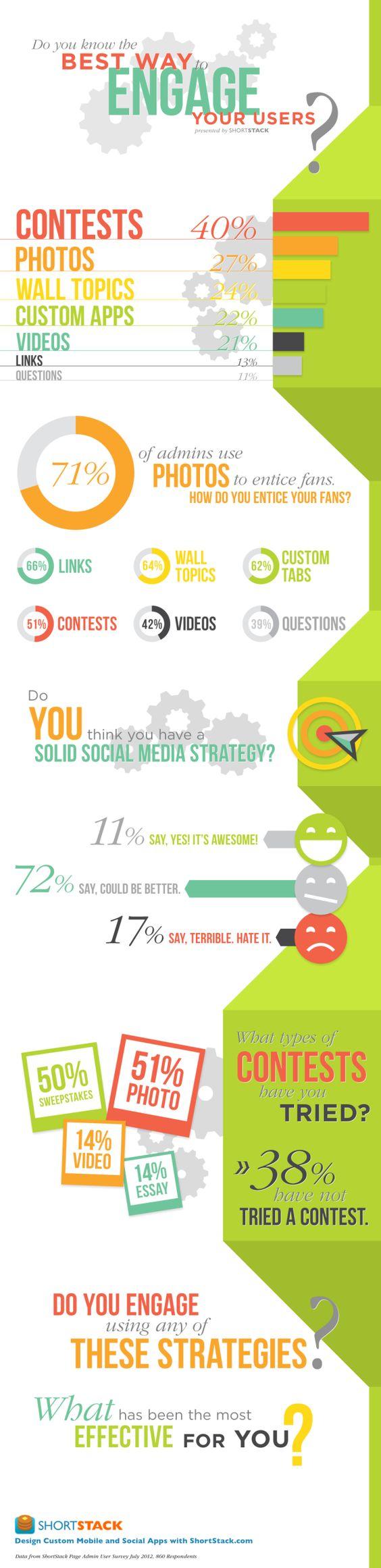 Formas de enganchar a los usuarios en las redes sociales
