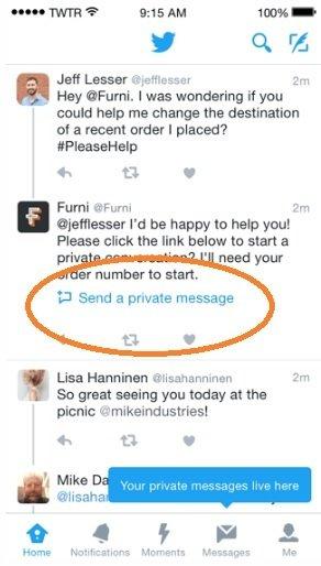 Más interacción entre las empresas y los clientes en Twitter