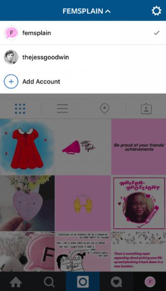 Usuarios de iPhone ya pueden usar varios Instagram en la misma app