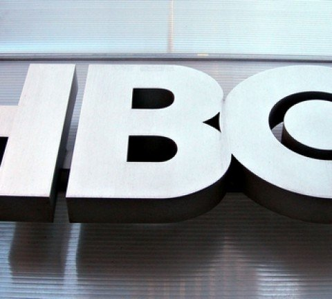 Image #: 1982473    HBO (Home Box Office) logo at HBO headquarters on March 5, 2006 in New York City.  Rob Kim /Landov
