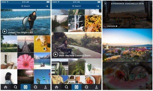 Instagram cambia la forma de descubrir nuevos vídeos en