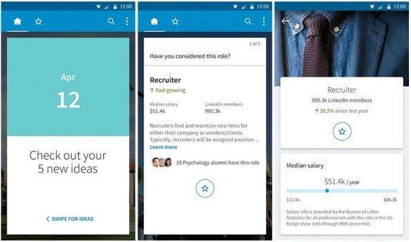 LinkedIn lanza una aplicación específica para estudiantes