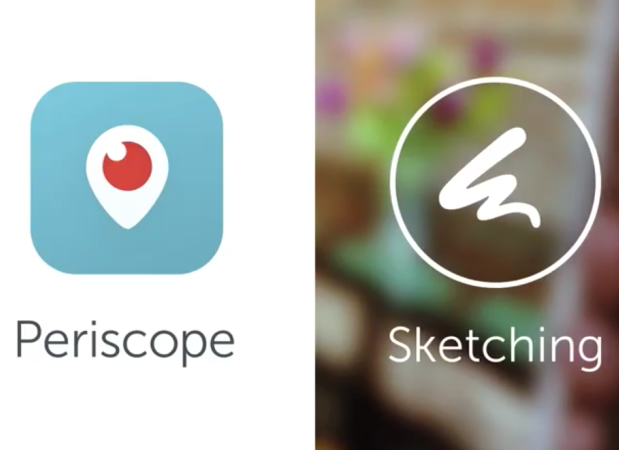 sketching periscope