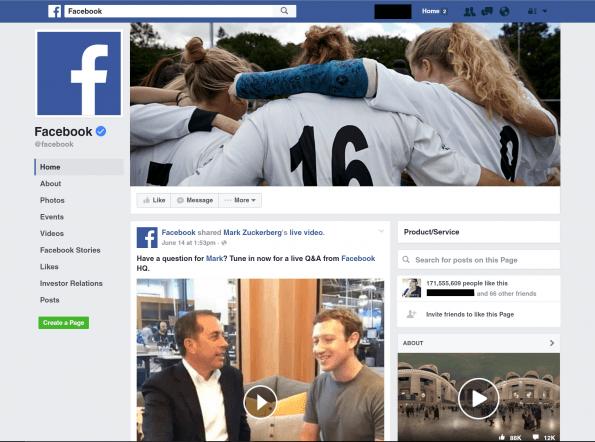 Así son las nuevas páginas de empresa que lanzará Facebook