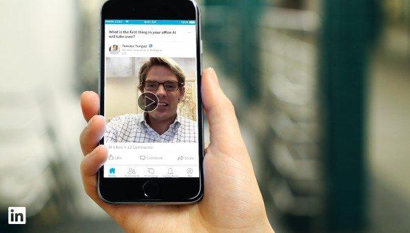 LinkedIn mostrará vídeos cortos con consejos de influencers