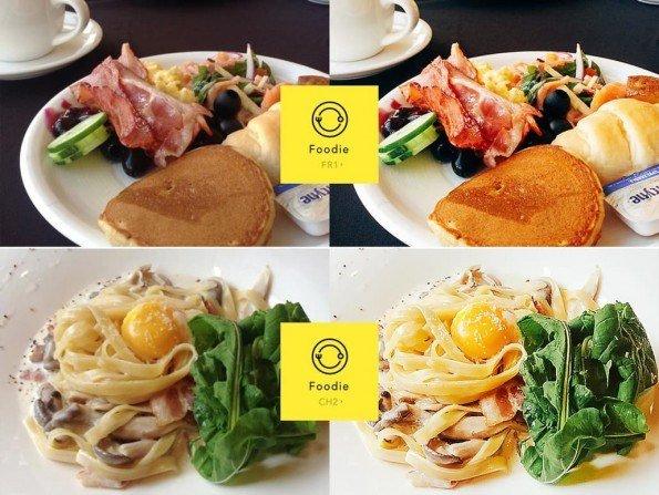 Foodie, la aplicación para mejorar tus propias fotos de comida