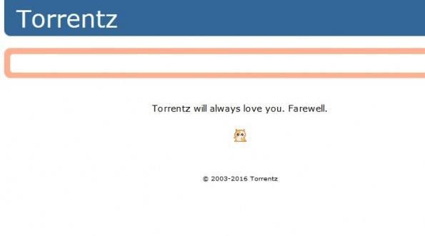 Cierra la página de descargas Torrentz de manera definitiva
