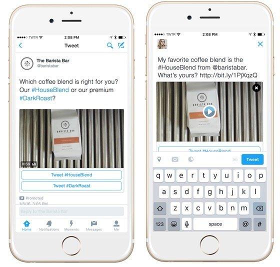 Novedades para la publicidad conversacional de la rrss Twitter
