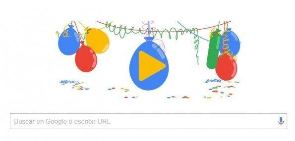 La compañía Google, buscador en Internet, cumple hoy 18 años