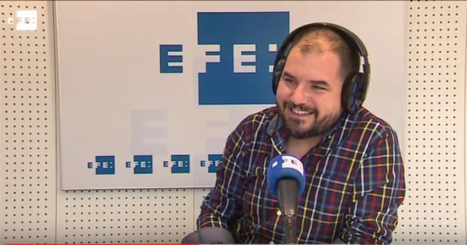 """Entrevista a TreceBits en """"La Hora de Luján Argüelles"""" en EFE Radio #YoTambiénLaLieParda"""