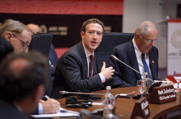 Mark Zuckerberg este fin de semana en Perú.