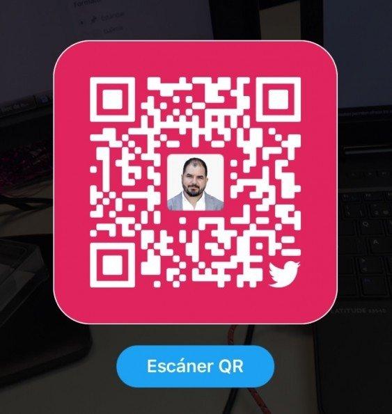 Twitter lanza códigos QR al estilo de la red social Snapchat