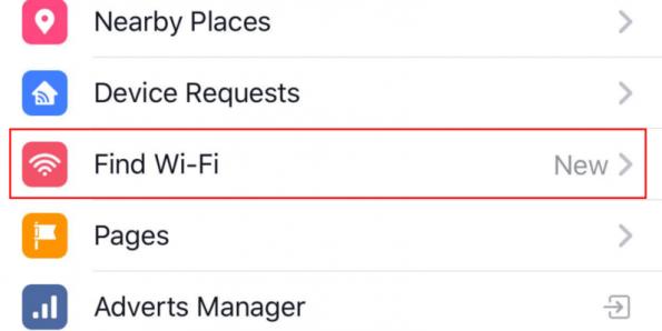 Find - Wifi