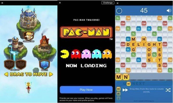 Facebook incorpora 17 juegos a la mensajería Facebook Messenger