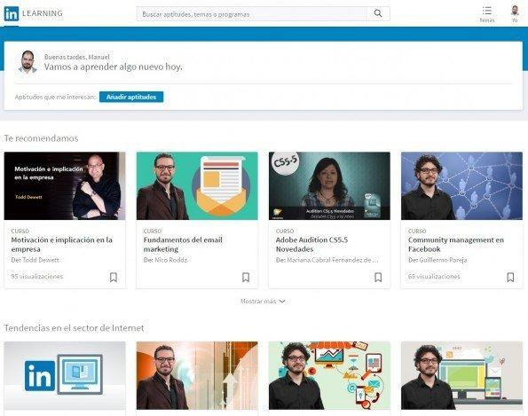 LinkedIn lanza la plataforma LinkedIn Learning en español
