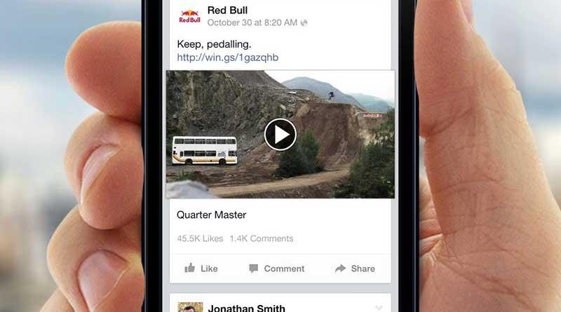 Facebook añade funciones para emitir en vídeo en usuarios populares