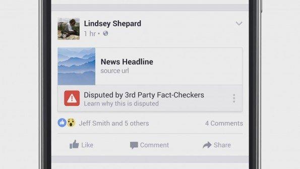 Así está luchando Facebook contra los contenidos falsos