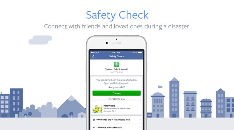 Safety Check Facebook