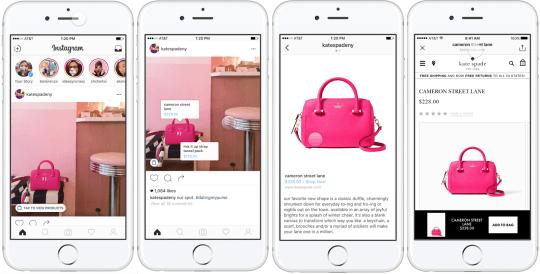Instagram permitirá la venta de productos en su plataforma