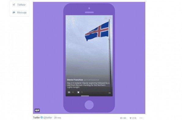 Twitter permite publicar 'Momentos' a través del teléfono móvil