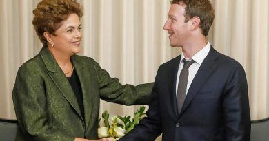 Dilma Rousseff y Mark Zuckerberg