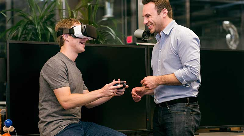 Mark Zuckerberg Realidad Virtual Facebook
