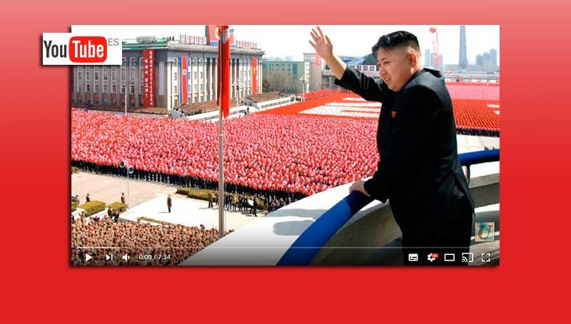 YouTube suprime dos canales sobre Corea del Norte
