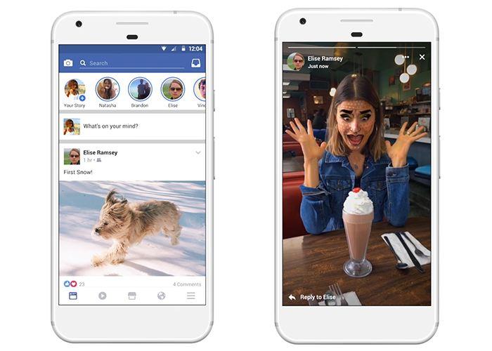 La funcionalidad de Historias ya está disponible en Facebook