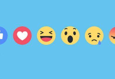 Las reacciones de Facebook llegan a los comentarios