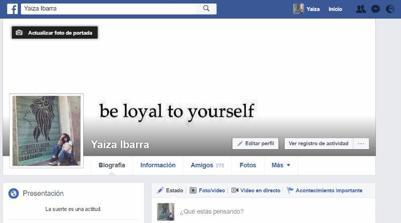 C mo cambiar tu foto de perfil en facebook trecebits - Cambiar foto portada facebook ...