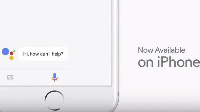El asistente de Google llega al iPhone y competirá con Siri